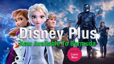 Disney Plus is now available to Bermuda