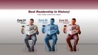 Best Readership In History!